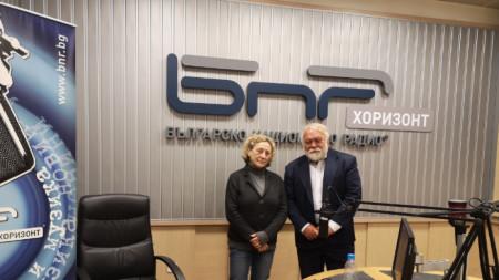 Нешка Робева и Йордан Нихризов