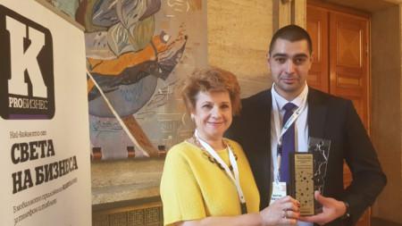 Доц. Мая Аргирова и д-р Мартин Мартинов от Клиниката по изгаряния в