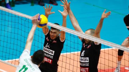 Волейболистите, водени от Николай Желязков, надиграха Добруджа 07 (Добрич) с 3:2