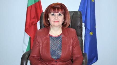 Гергана Микова, областен управител на Стара Загора.