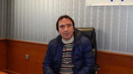 Дейвид Славчев, директор на видинския Драматичен театър