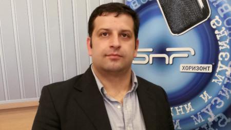 Боян Стефанов от Младежкия консервативен клуб