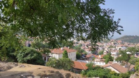 Разкопките на върха на Небет тепе, Пловдив