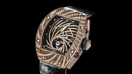 """Швейцарските часовници """"Ришар Мил"""" са високо ценени от познавачите, но и лесно разпознаваеми от крадците."""