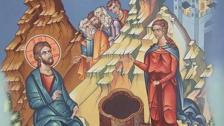 Христос поучава Самарянката