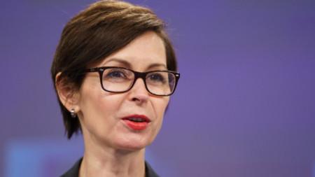 Дана Спинант - говорител на Европейската комисия