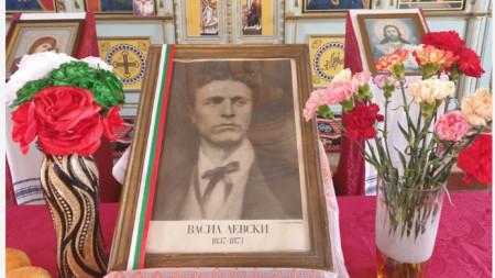 Спасен портрет на Васил Левски в силистренското село Шуменци.
