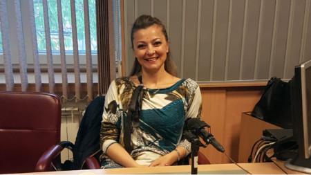 "Д-р Росица Попова в студиото на програма ""Христо Ботев"""