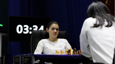 Александра Горячкина спечели на 60-ия ход.