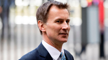 Британският външен министър Джереми Хънт.