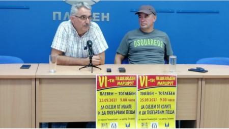 Емил Гашев и Красимир Танчев