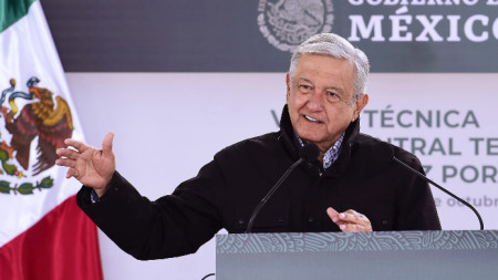 Мексиканският президент Андрес Мануел Лопес Обрадор