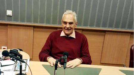 """Проф. Витан Влахов в студиото на програма """"Христо Ботев"""""""