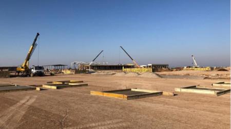 Balkan Stream construction site