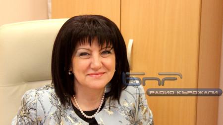 Цвета Караянчева, спикер Народного собрания