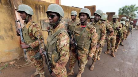 Войници на африканската държава Мали.