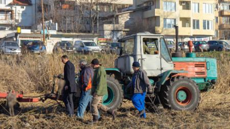 Почистване на река Тунджа