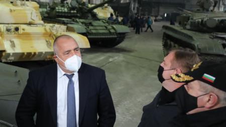 """Кадър от инспекцията в """"ТЕРЕМ - Хан Крум"""" в Търговище."""