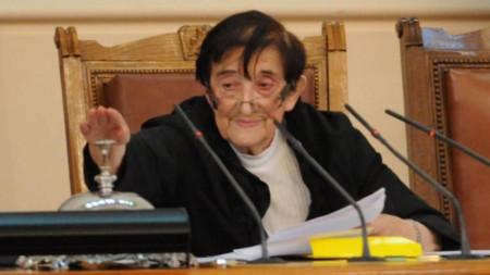 46. Dönem Halk Meclisi'nin en yaşlı milletvekili Mika Zaykova