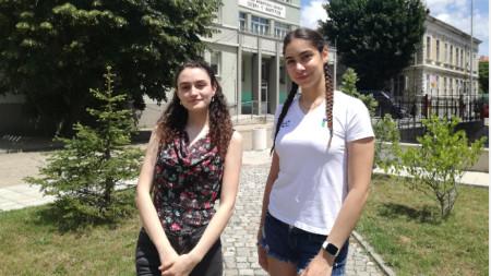 Ванеса Терзиева и Ванина Вълкова