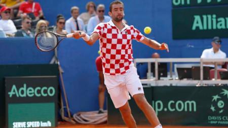 Чилич записа чиста победа в Задар.