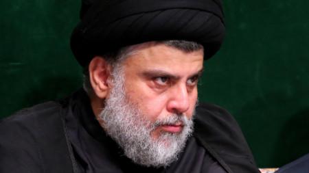 Иракският шиитски духовник Муктада Садр.