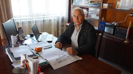 Кметът на с.Василовци Огнян Йорданов