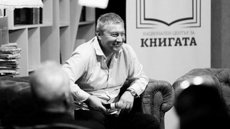 """Митко Новков в Литературен клуб """"Перото"""""""