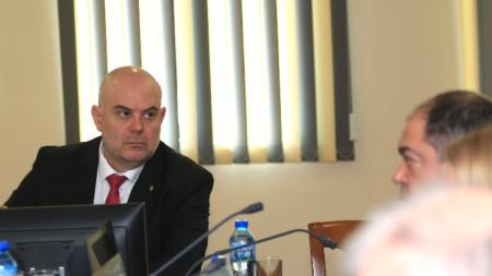 Иван Гешев начело на първото заседание на Прокурорската колегия за 2020-а