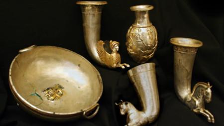 Тракийско съкровище от Борово, IV век пр. Хр.