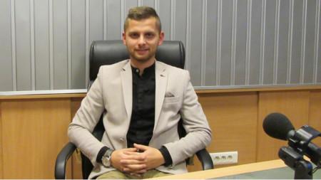 "Деян Доков в студиото на програма ""Христо Ботев"""
