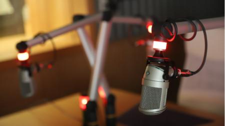 Студио,микрофон