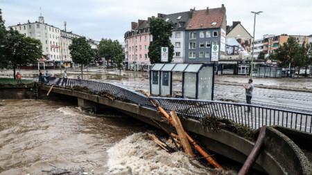 Hochwasserschäden in Deutschland