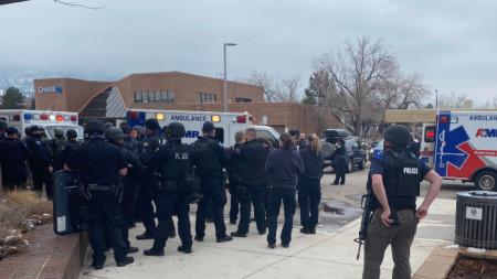 Снимка, предоставена от местната полиция.
