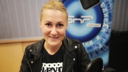 Автомобилният състезател Екатерина Стратиева