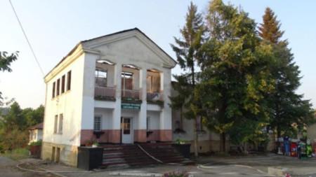 Сградата на читалище