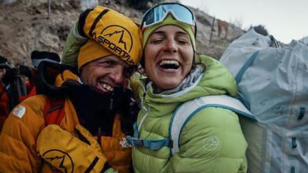 Симоне Моро и Тамара Лунгер