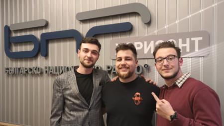 Владимир Станков, Александър Костов и Александър Тамбари
