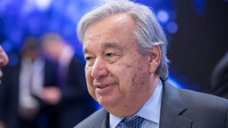 Генералният секретар на ООН Антониу Гутериш.