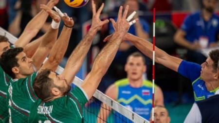 Словения-България 3:1 гейма