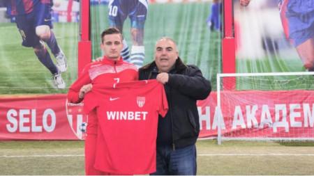 Един Бахтич и Иво Андреевски