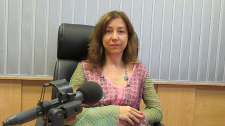 """Биляна Генова, директор на дирекция """"Култура"""" към Столична община, в студиото на програма """"Христо Ботев"""""""
