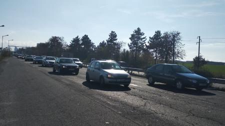Около 500 души протестираха в Бургас