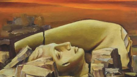 """""""След утре"""", картина от Николай Николов-Зиков"""