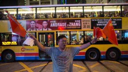Антиправителствените протести в Хонконг продължават вече почти три месеца