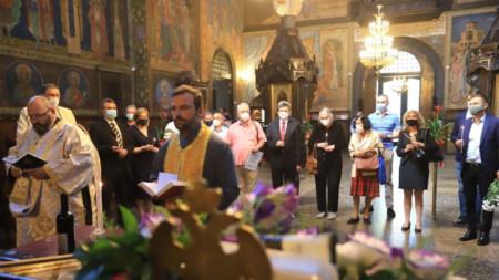 Solemn church service at St. Nedelya church