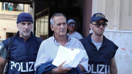 Арестът на Джовани Бускеми в Палермо