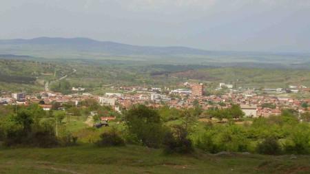 Панорамен изглед към Тополовград