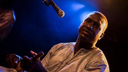 "Басеку Куяте (Мали) на организирания от ""Аларма"" фестивал ""АфроВизия"" (2019 г.)"
