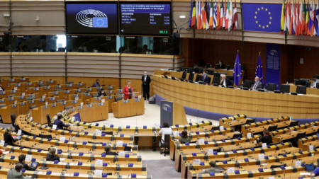 Заседание на Европейския парламент в Брюксел